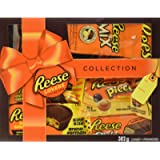 REESE Lovers Chocolate Peanut Butter Assorted Gift Box, Valentine's Candy, Pack of 7