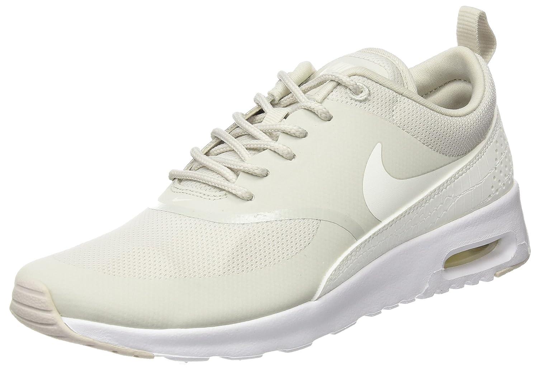 NIKE Women's Air Max Thea Low-Top Sneakers, Black B06VSV25TM 7.5 M US|Beige (Light Bone/Sail/White)