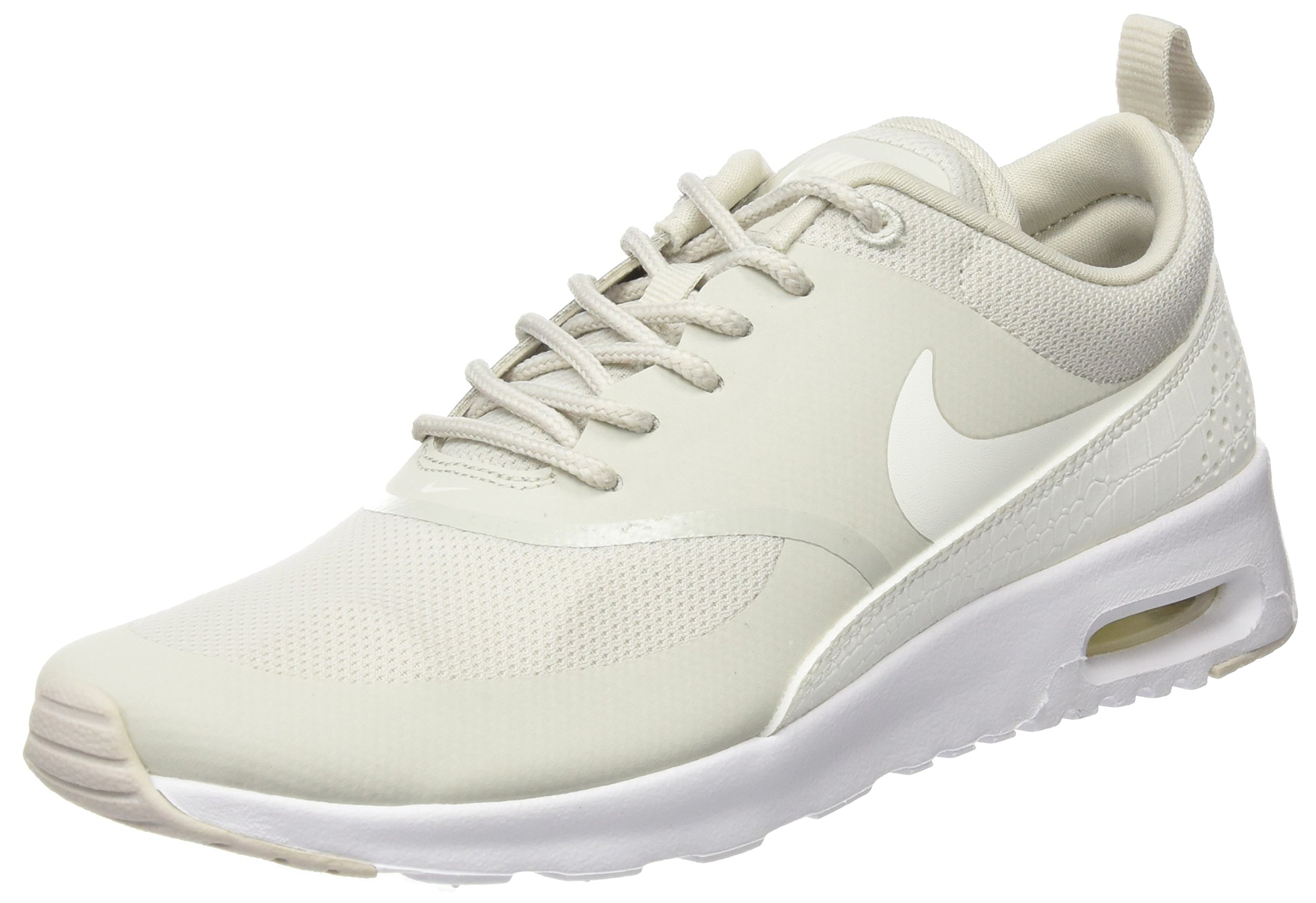 new product 7e65f f809d Galleon - Nike Women s Air Max Thea Low-Top Sneakers, Beige (Light  Bone Sail White), 4 UK