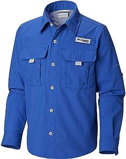 78d8b514f2b Amazon.com : Columbia Sportswear Boy's Bahama Long Sleeve Shirt ...