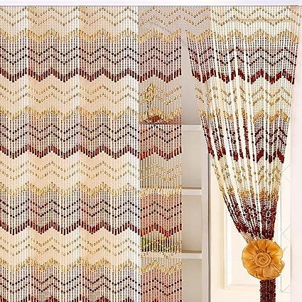 Acrylic Crystal Bead Curtain,Decorative Door String Curtain Beads Beautiful  Home Decor Acrylic Beaded Curtain