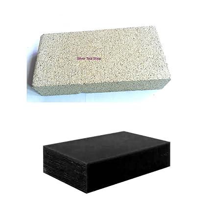 SilverToolShop® Bloque de ladrillo + grande de carbón de soldadura para soldar joyas trabajo sobre