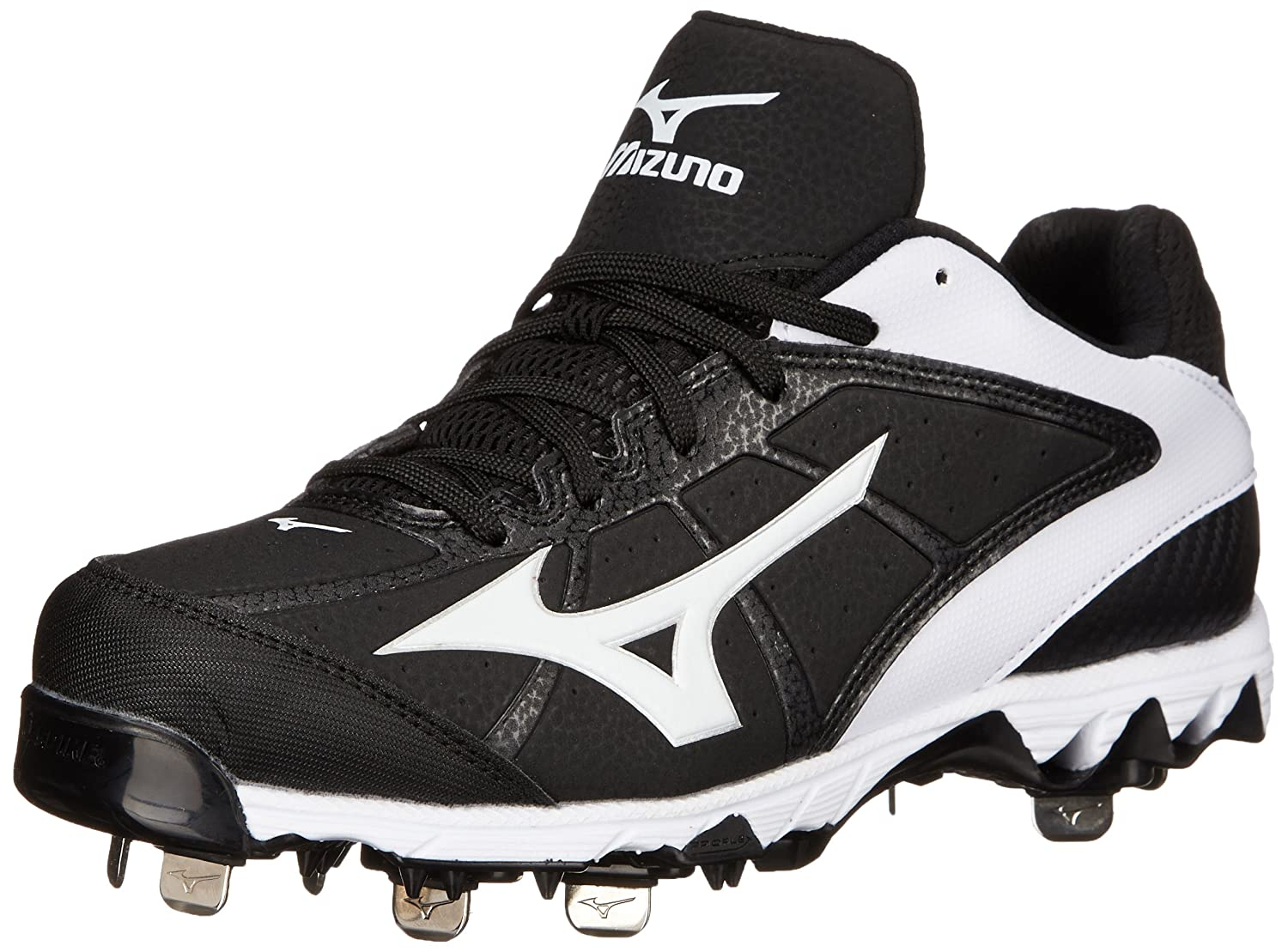 Mizuno Women's 9 Spike Select 2 Fast Pitch Metal Softball Cleat