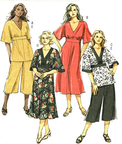 Amazon.com: Butterick B5002, Women's Separates, Size RR(18W-24W), OOP:  Arts, Crafts & Sewing