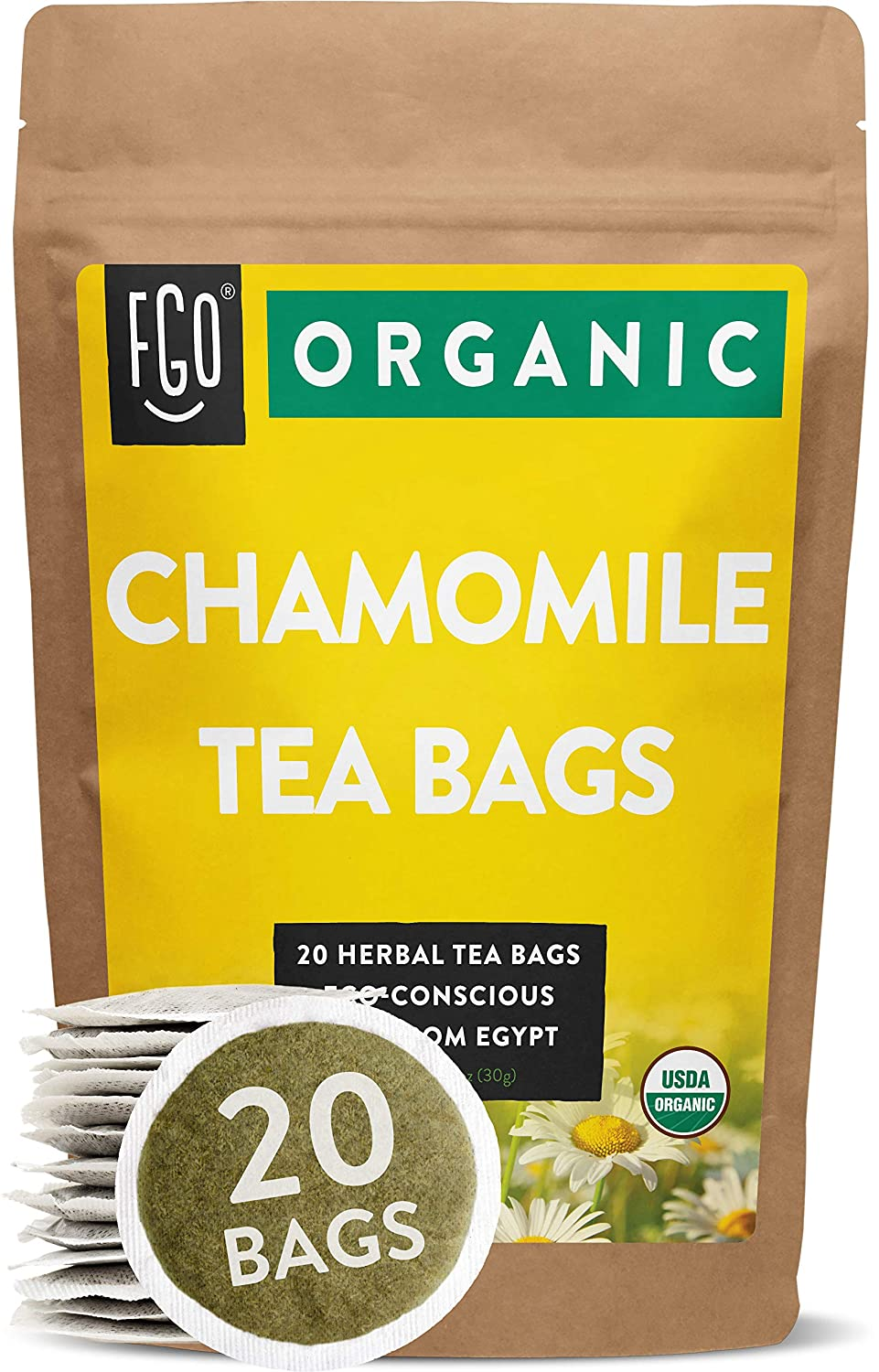 chamomile tea bag review