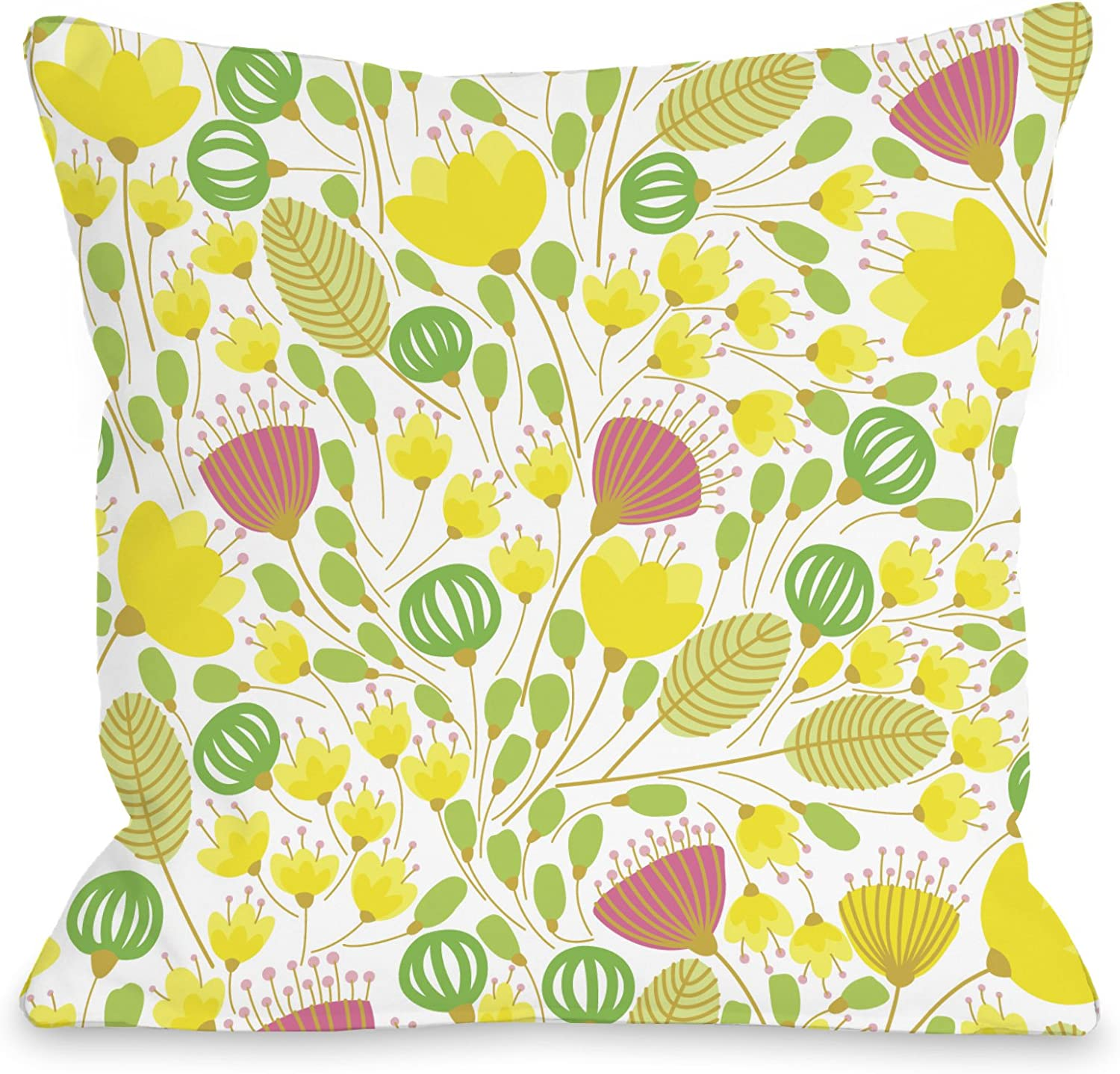 Bentin Home Decor 12423pl18c Playful Summer Afternoon Pillow Cover Multi 18 By 18 Inch Amazon Ca Home Kitchen