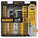 40-Pcs. Dewalt DWA2T40IR FlexTorq Impact Ready Screw Driving Set