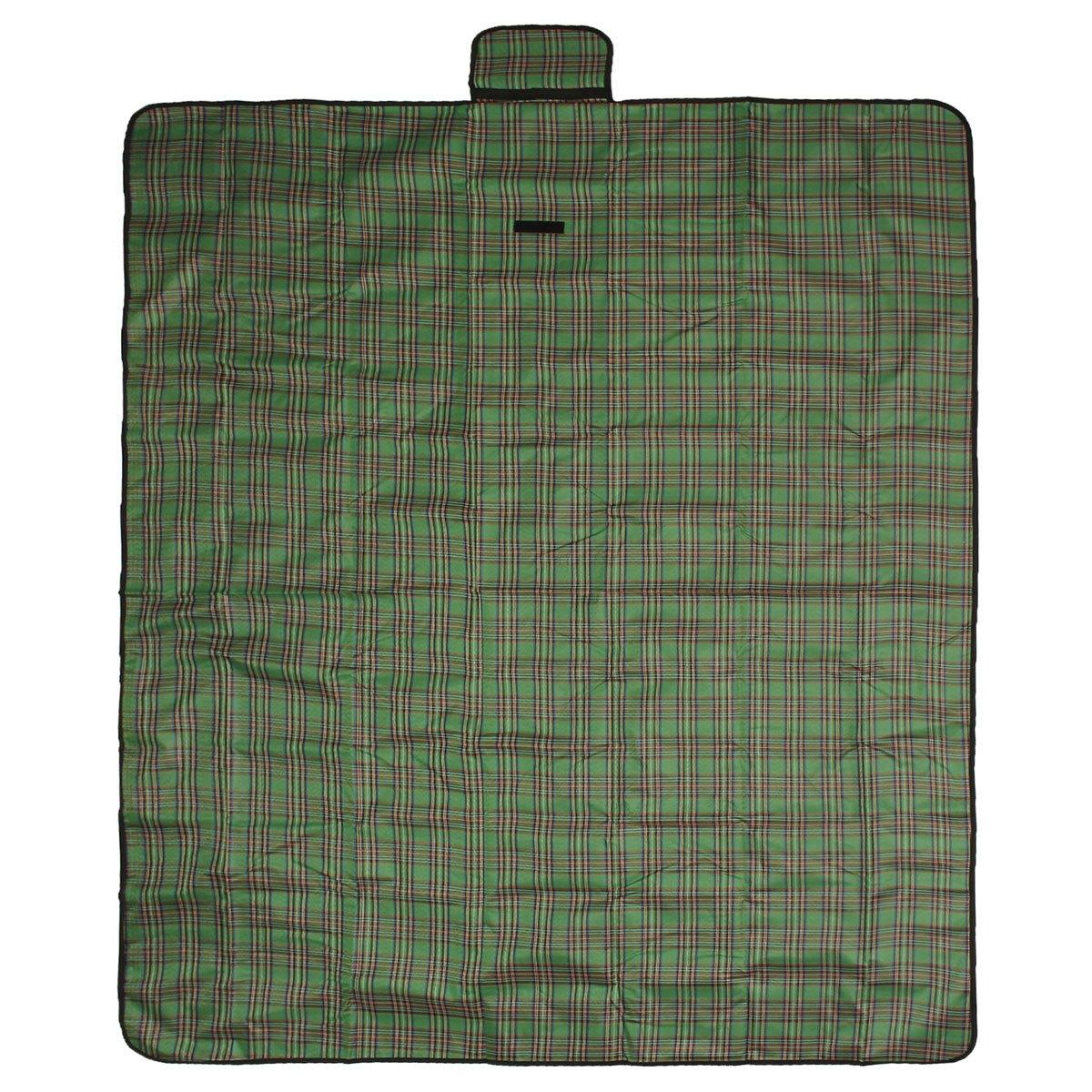 Outerdo - Manta impermeable y plegable en tela Oxford/plástico PVC. Ideal para picnics, acampadas o para extender en el jardín. Medidas: 150 x 200 cm, ...