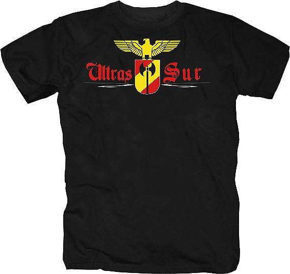 shirtmachine - Camiseta - para hombre Negro XXXL: Amazon.es: Ropa y accesorios