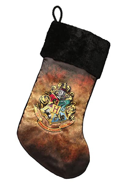 Harry Potter Hogwarts Crest Christmas Stocking Standard