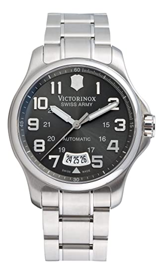 13272271 Image Unavailable. Image not available for. Colour: Victorinox Swiss Army  Men's Automatic ...