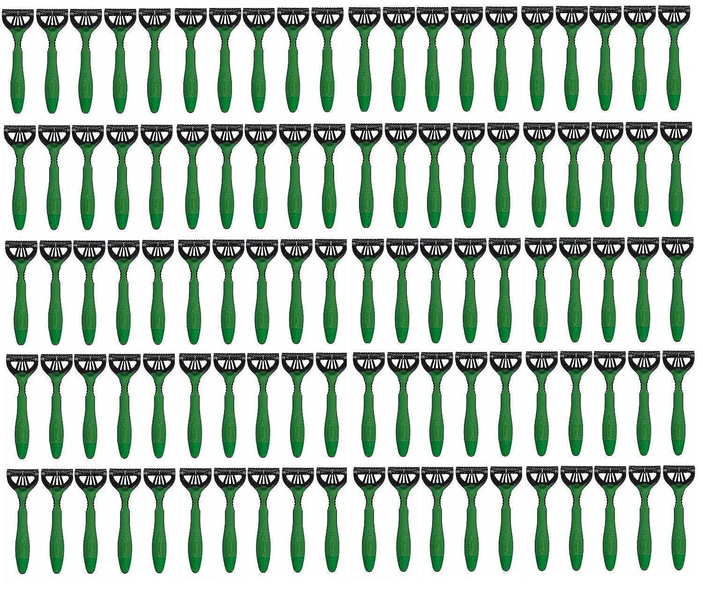 100 (Pack) - Schick Xtreme 3 Disposable Razors Sensitive Aloe Green Bulk bvcsales