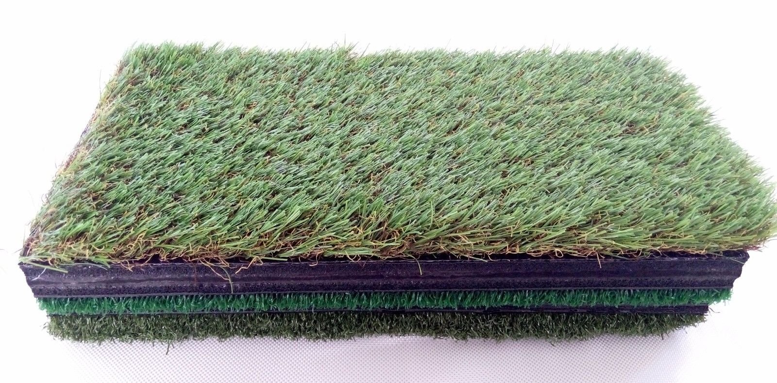 TrueBirdie Golf Mat for Indoor or Outdoor Practice - Multi Surface Golf Hitting Mat Perfect for Backyard Practice - 6 Foam Golf Balls Included by TrueBirdie