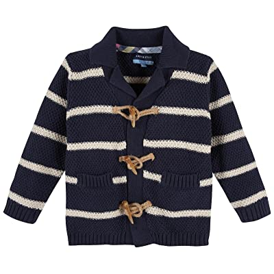 Andy & Evan Boys' Striped Cardigan-Toddler