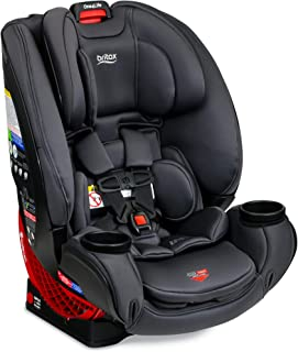 product image for Britax One4Life ClickTight All-In-One Car Seat – 10 Years of Use – Infant, Convertible, Booster – 5 to 120 Pounds, Cool Flow Moisture Wicking Fabric, Cool N Dry Charcoal [Amazon Exclusive]