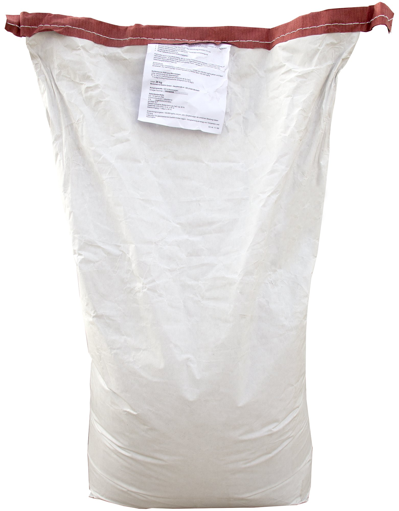 Algenkalk Pulver 25kg - Gartenkalk - Buchsbaumkalk - Zur Behandlung des Pilzes Cylindrocladium buxicola bei Buchsbäumen - Buchsbaumretter product image