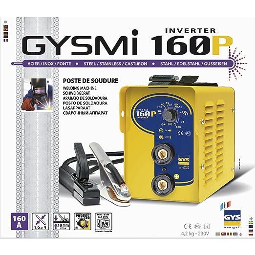 GYS GYSMI 160P - Kit de soldadura: Amazon.es: Industria, empresas y ciencia