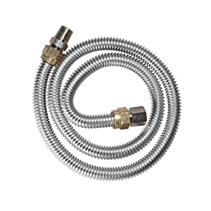 Dormont 20-3132-36B 36 in. Long Outlet Diameter Male x 1/2 in. Female Gas Appliance Connector, 1 pack