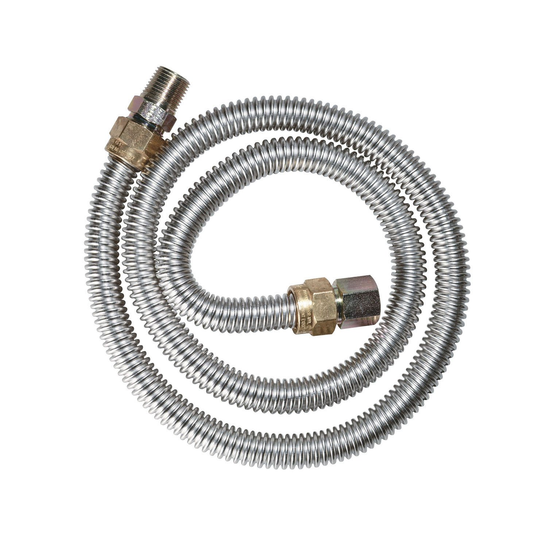 Watts Dormont 20-3132-36B Gas Dryer 1/2-Inch Diameter Connector, 36-Inch Length