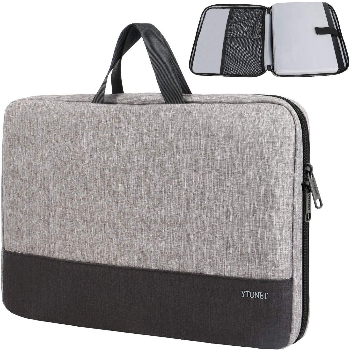 """13.3/"""" MacBook Pro//Air,Notebook With Small Case Laptop Sleeve Bag For 13/"""" Black"""