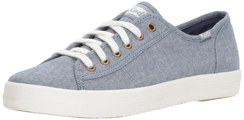 Keds Women's Kickstart Chambray Sneaker B071WTHZ6N 7.5 M US|Blue