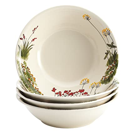 Paula Deen Signature Dinnerware Southern Rooster 4-Piece Stoneware Soup and Pasta Bowl Set  sc 1 st  Amazon.com & Amazon.com: Paula Deen Signature Dinnerware Southern Rooster 4-Piece ...