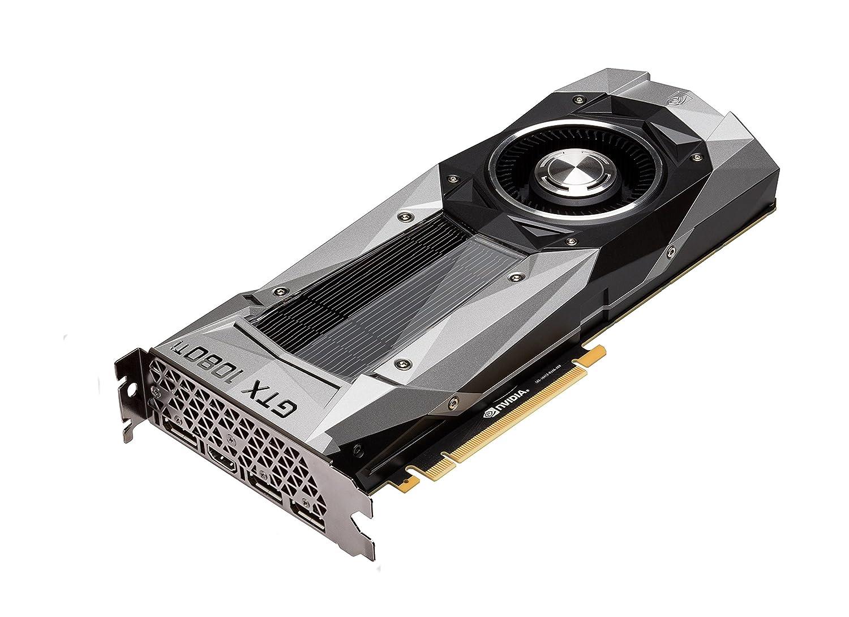MSI GeForce GTX 1080 Ti Founders Edition – Tarjeta gráfica (GTX 1080 Ti, refrigeración diseñada por NVIDIA, 11 GB GDDR5X, 1582 MHz)