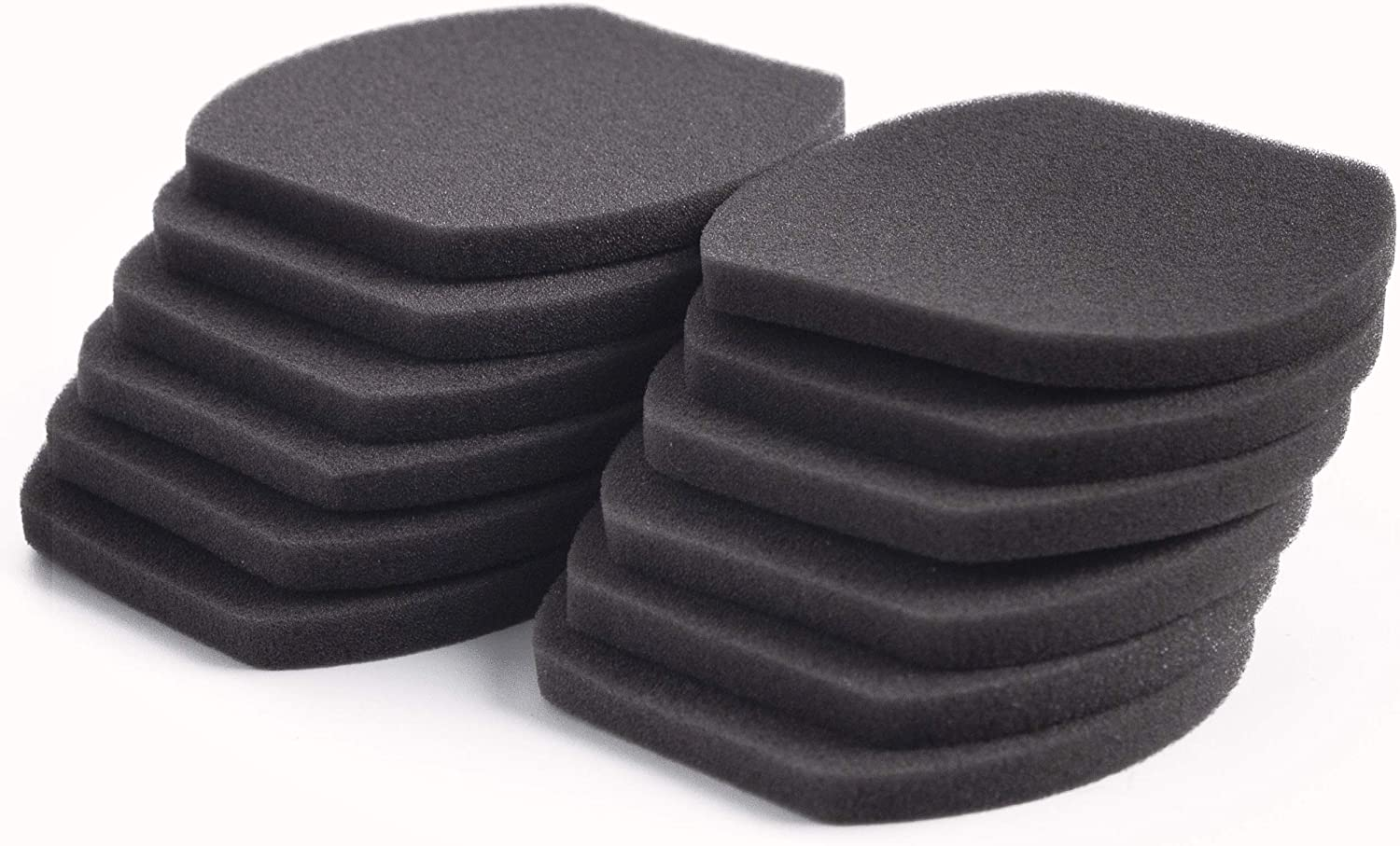 LTWHOME Replacement Vacuum Foam Filter Fit for Bissell 3-in-1 Stick Vacuum Cleaner, Compare to Part 2037424 (Pack of 12)