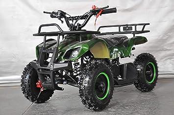 Mini quad con motor 49cc de 2 tiempos automático RAPTOR/miniquad, quad, quad niños, quad infantil, quad pequeño.: Amazon.es: Coche y moto
