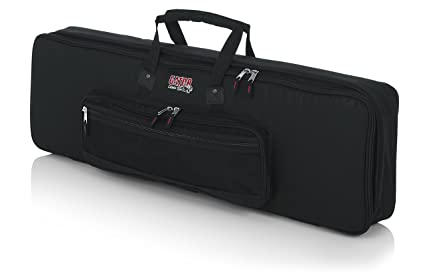 75471b76d3 Gator Cases Padded Keyboard Gig Bag  Fits Slim Line 61 Note Keyboards (GKB-