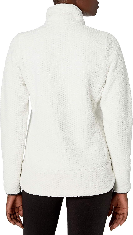 Helly-Hansen Womens Lyra Offset 1//2 Zip 2-Sided Fleece Pullover Jacket