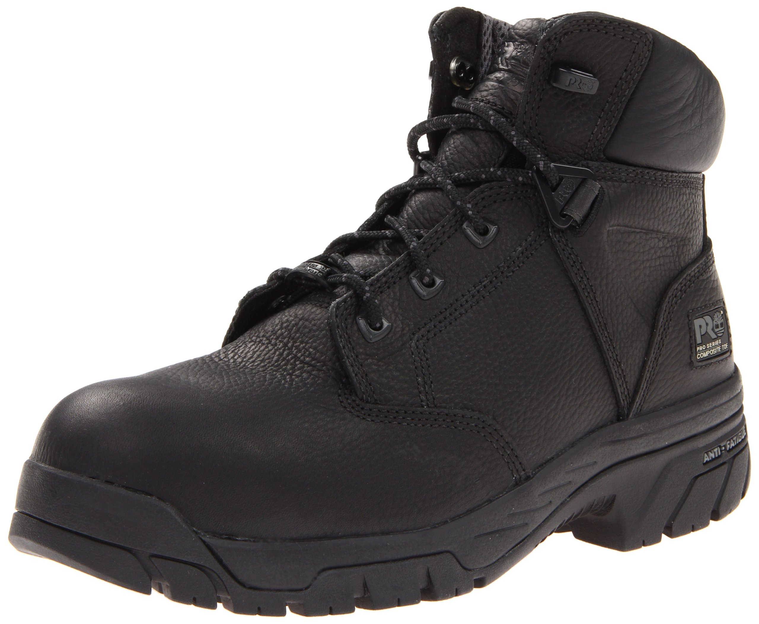 Timberland PRO Men's Helix 6-Inch Waterproof BL Comp Lace-Up Fashion Sneaker,Black,7 W US