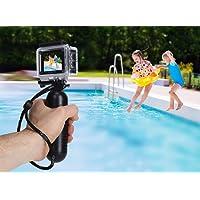 """Rollei Actioncam 540 - WiFi Actionkamera mit 4k Video-Auflösung und Weitwinkelobjektiv, 2"""" LCD-Display, Loop-, Zeitraffer-, Slowmotion-Funktion, 16 MP Fotofunktion, bis 40 m wasserdicht, inkl. Unterwasserschutzgehäuse und Schwimmgriff"""