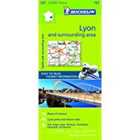Lyon & surrounding areas - Zoom Map 127 (Michelin Zoom Maps)