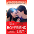 The Boyfriend List (A Forever Love Story)