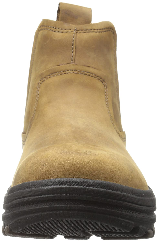 3b1f62b5 Amazon.com | Skechers USA Men's Holdren Volsent Chukka Boot, Light Brown,  10 M US | Chukka