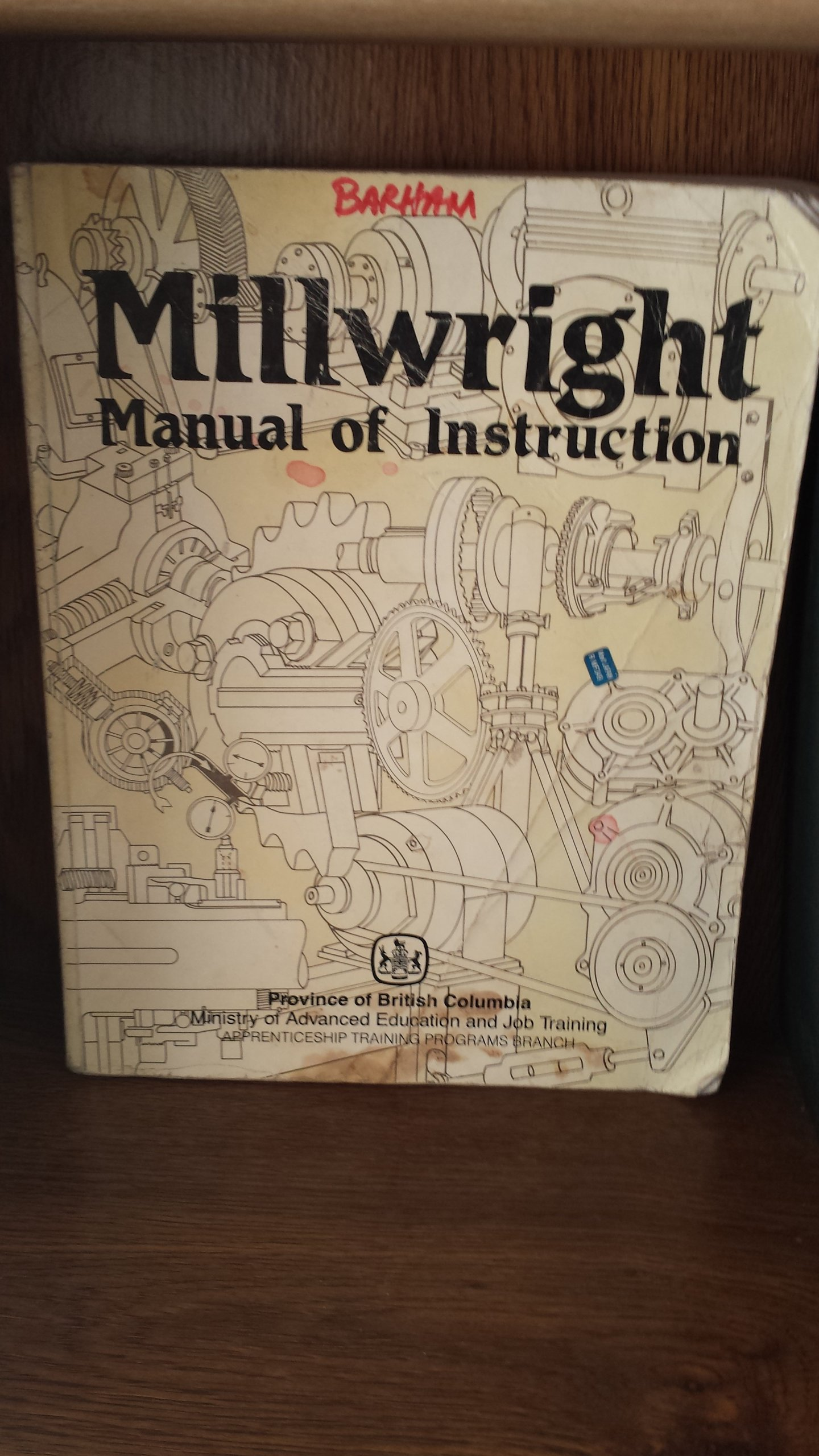 millwright manual of instruction n a 9780771983832 books amazon ca rh amazon ca  bc millwright manual of instruction