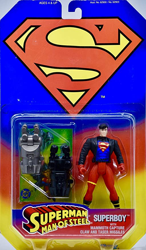 Amazon.com: Superman Man of Steel ~ Superboy: Toys & Games