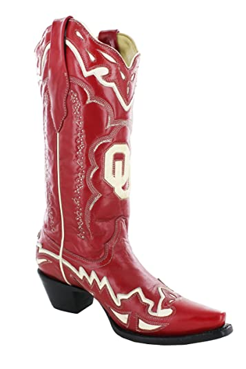Amazon.com | New Corral A1159 OU Red 5.5 Womens Western Boots ...