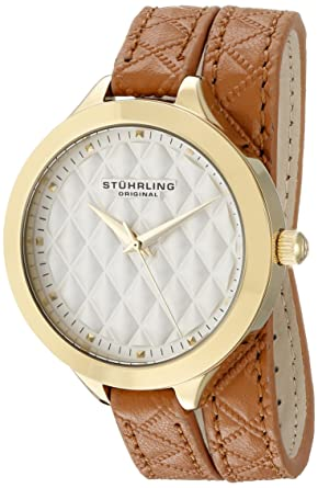 2250f798a Image Unavailable. Image not available for. Color: Stuhrling Original  Women's 658.02 Vogue Beige Wrap ...