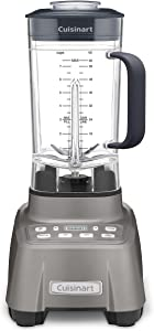 Cuisinart Hurricane Blender, 2.25 Peak, Gun Metal