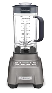 Cuisinart CBT-1500 This Hurricane Blender is revved and Ready to go. The Professional Power 2, 2.25 Peak Gun Metal
