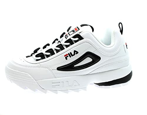 Fila Uomo Sneakers MOD. Sneakers Bicolore 008 Nero: Amazon ...