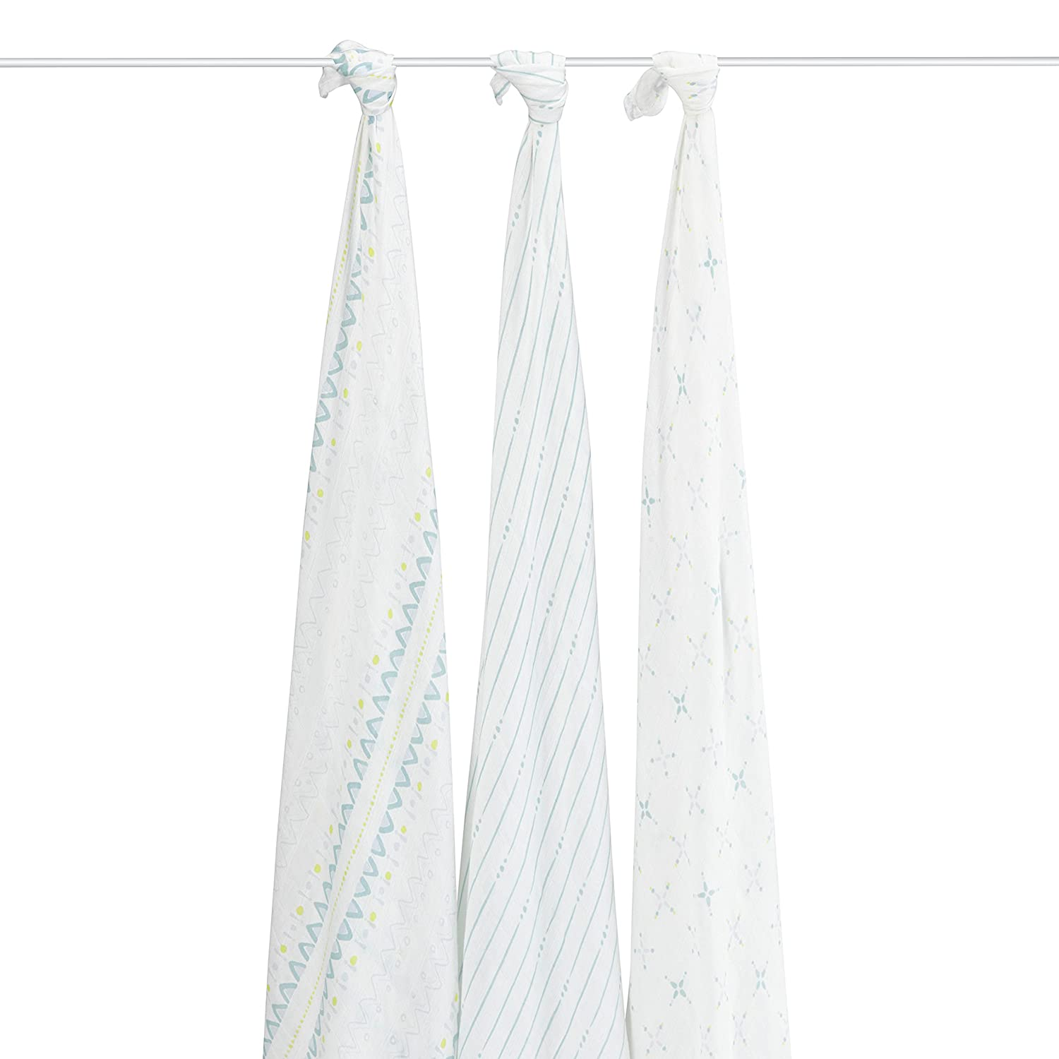 aden + anais Rayon From Bamboo Swaddle Blanket 3 Pack - Fresh