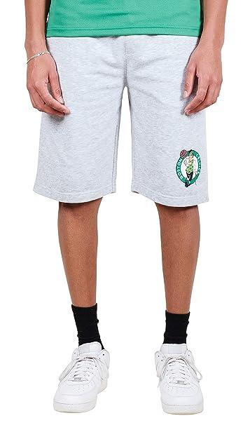 d5fcc38d13d23 Ultra Game NBA Boston Celtics Men's Active Workout Basketball Shorts,  Heather Gray, Medium