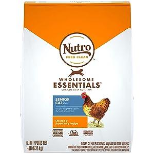 Nutro Wholesome Indoor Senior Dry Cat Food