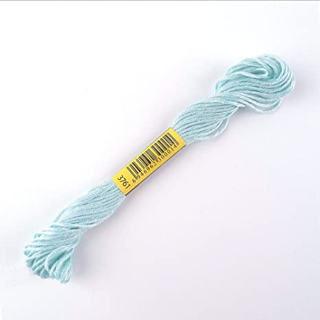 DMC Stranded Cotton Embroidery Floss Colour B5200 Snow White