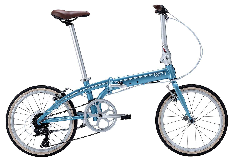tern(ターン) Link C8 20インチ 8speed 折りたたみ自転車 2017年モデル B01M0A8SOY ライトブルー / ホワイト ライトブルー / ホワイト