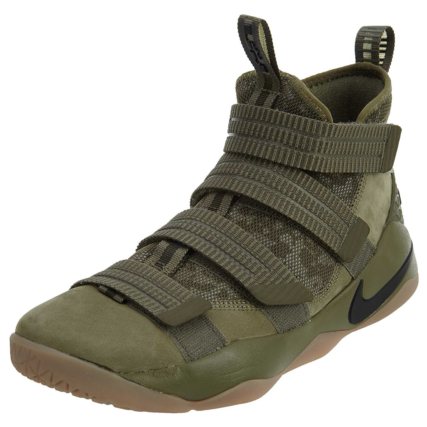 newest 4ef36 a829b Galleon - NIKE Lebron Soldier Xi SFG Men s Basketball Shoes (10 D(M) US,  Medium Olive Black)