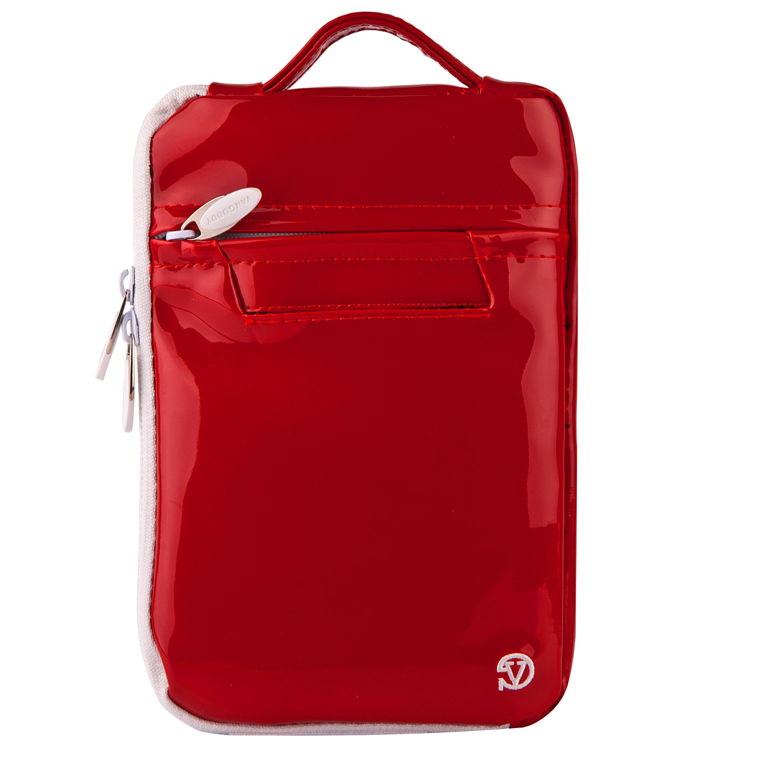 Red Social Media Lightweight Travel Case for HP Sprocket Portable Photo Printer